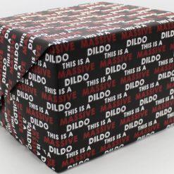 Massive Dildo Wrapping Paper